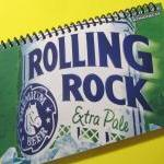 ROLLING ROCK BEER spiral up..